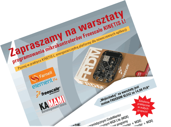 plakat_A4_warsztaty_freescale_KAMAMI_promo