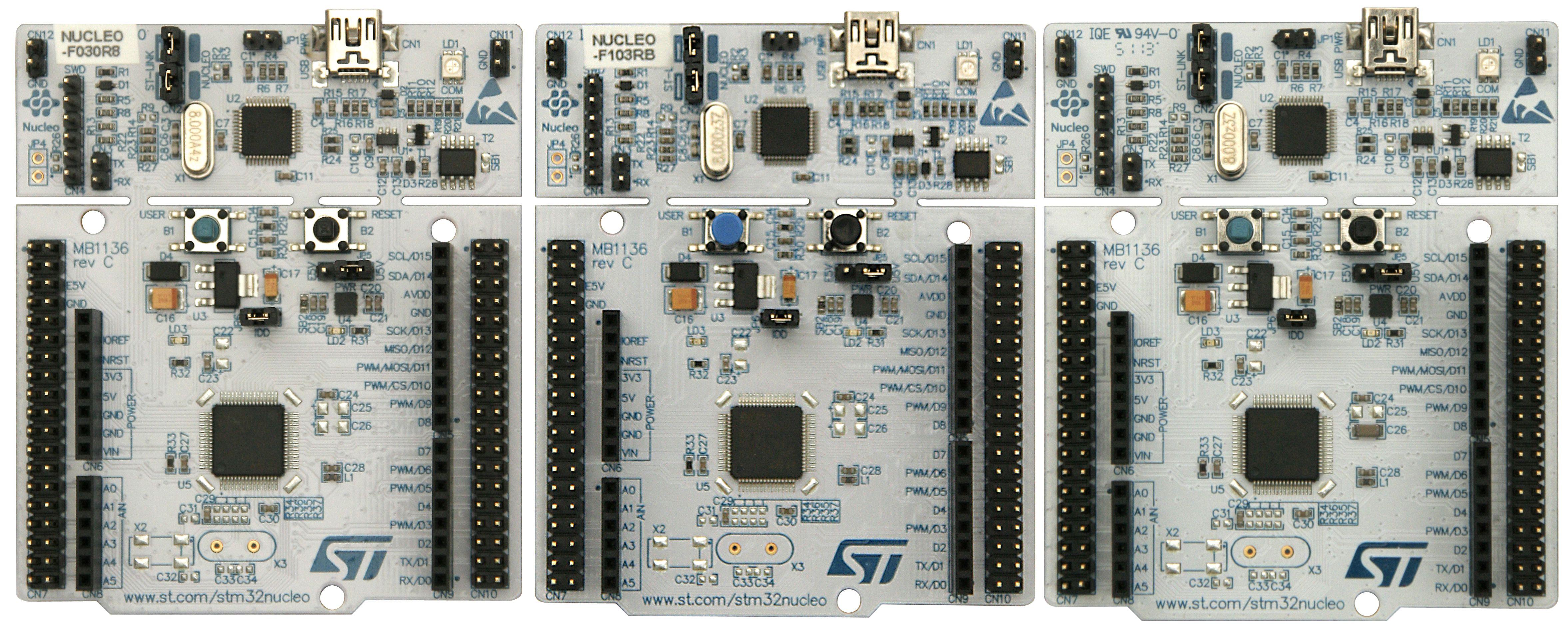STM32Nucleo_trzy_plytki_duze