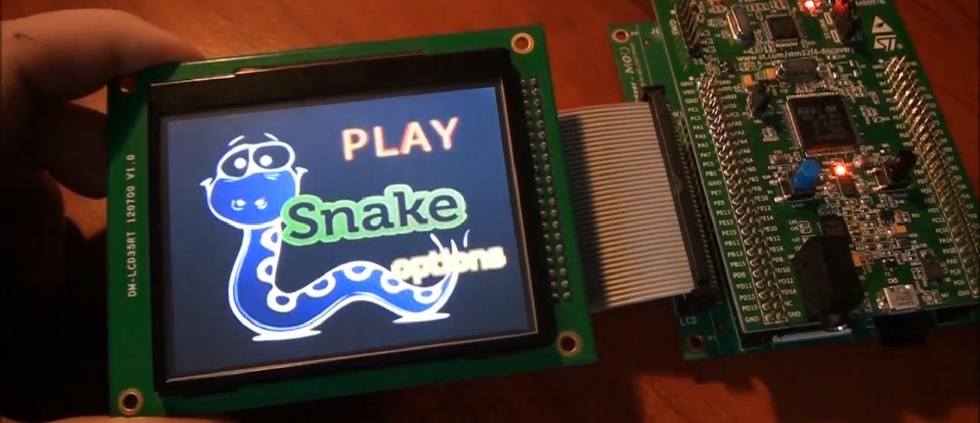 snake_na_STM32