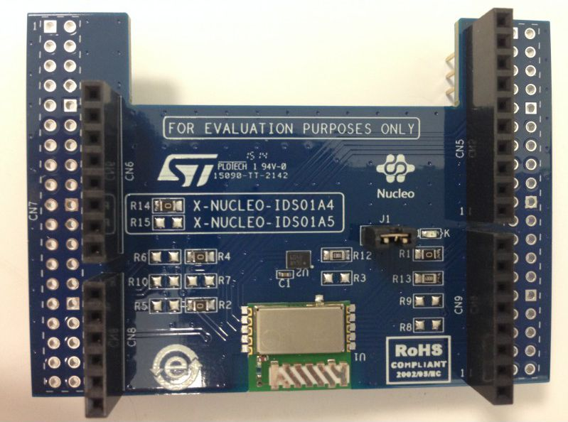 STM32-NUCLEO-ISM-SHIELD