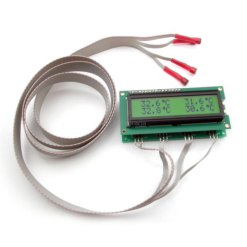 avt3085-c-4-kanalowy-termometr-cyfrowy-zmontowany-zestaw
