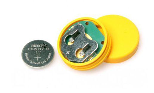 inode-care-sensor-t-zolty-bezprzewodowy-czujnik-temperatury-z-ukladem-si7051