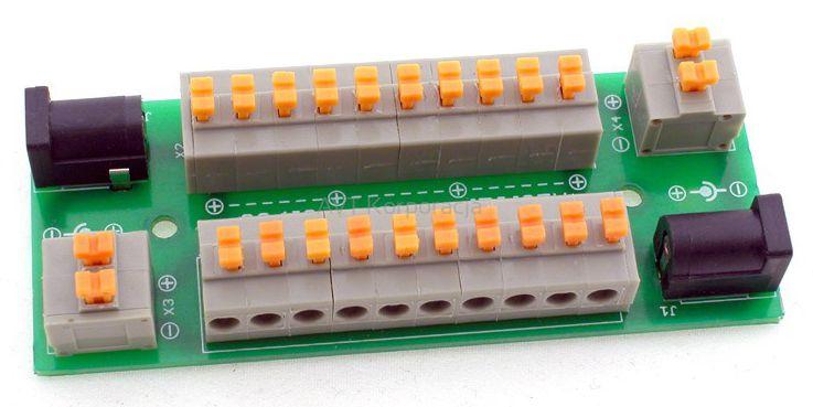 avt3175-c-praktyczny-rozgaleziacz-zasilania-z-szybkozlaczkami-zaciskowymi-zmontowany-zestaw