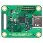 Moduł konwertera MIPI-DSI do HDMI i LVDS z oferty SoMLabs